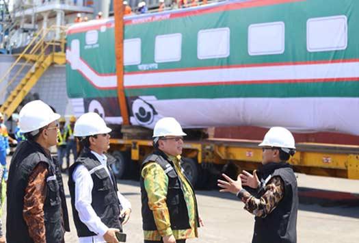 INDONESIA BISA, PT. INKA EKSPANSI PASAR GERBONG KERETA KE BANGLADESH