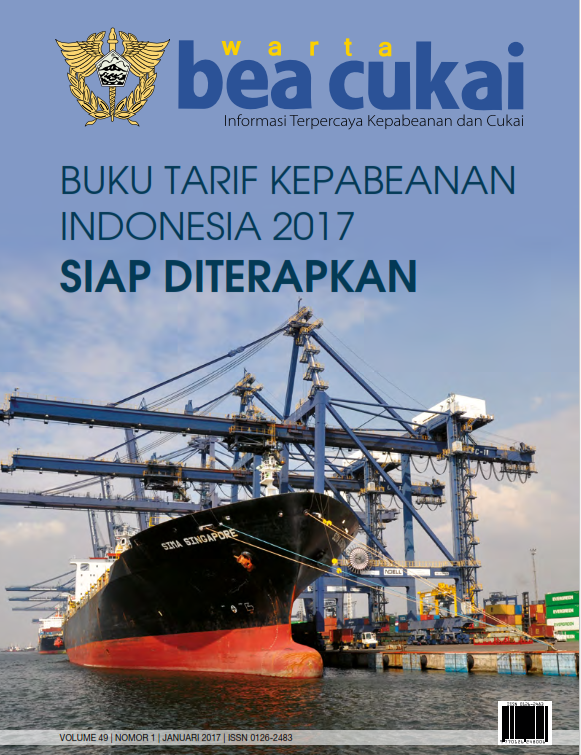 Warta Bea Cukai Volume 49, Nomor 1 Januari 2017